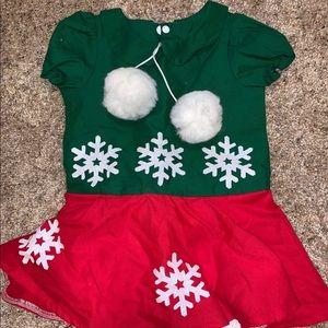 Little Ladies Boutique Minnie Christmas NWOT